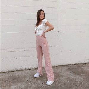 Pretty Little Thing Pink trousers